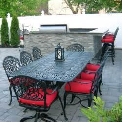 the tuscany outdoor patio dining set hanamint family