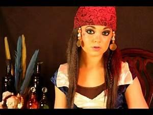 Captain Jack Sparrow A Makeup Tutorial - YouTube
