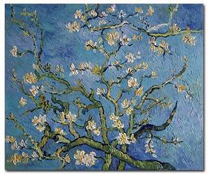 Blossoming Almond Tree - van Gogh Paintings | Famous Art ...