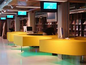 Aménagement Bibliothèque : 7 principes consid rer en am nagement de biblioth ques ~ Carolinahurricanesstore.com Idées de Décoration