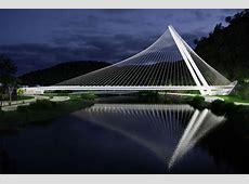 santiago calatrava plans bridge to span canal in rio de