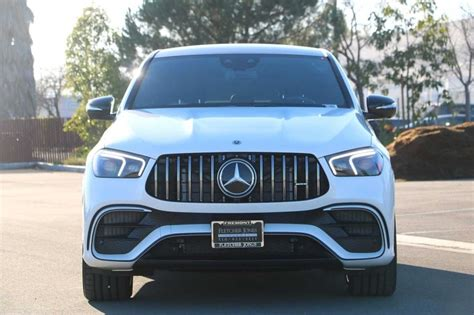 When slowpokes spot the amg grille with vertical slats, angry lower facia with. New 2021 Mercedes-Benz GLE AMG® GLE 63 S 4MATIC Coupe Coupe in Fremont #98039 | Fletcher Jones ...