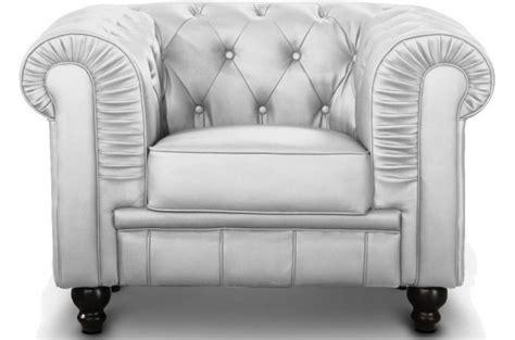 fauteuil chesterfield argent pas cher