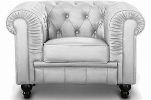Fauteuil Chesterfield Pas Cher : fauteuil chesterfield argent pas cher ~ Teatrodelosmanantiales.com Idées de Décoration