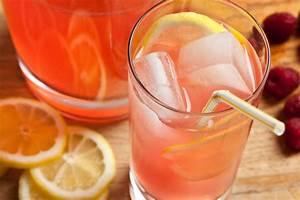 Raspberry-Basil Pink Lemonade Recipe — Dishmaps