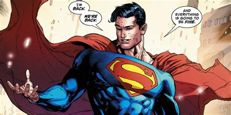 Dc Rebirth Brings Back New 52 Superman