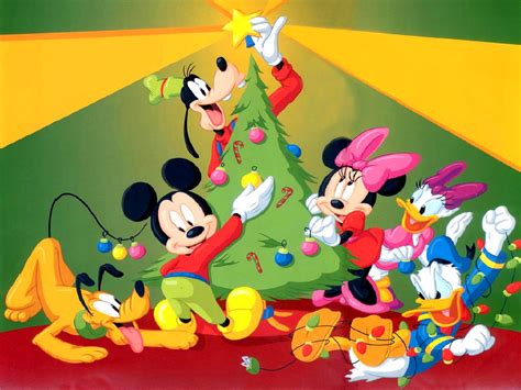 disney mickey mouse with santa claus christmas wallpaper homeremedies