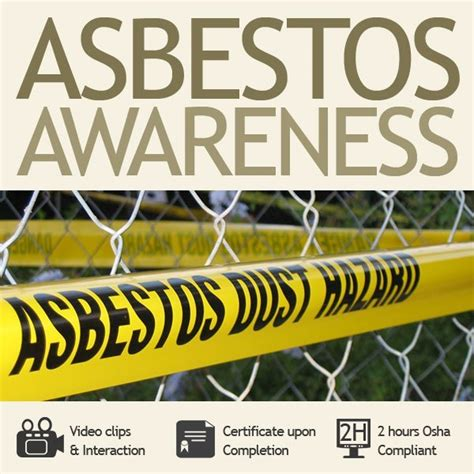 hour asbestos awareness training  haztrainer
