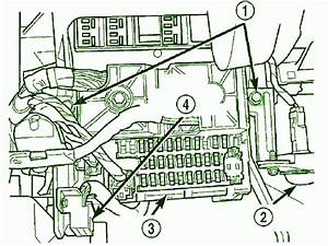 Carfusebox  Engine Fuse Box Diagram For 2003 Jeep Grand