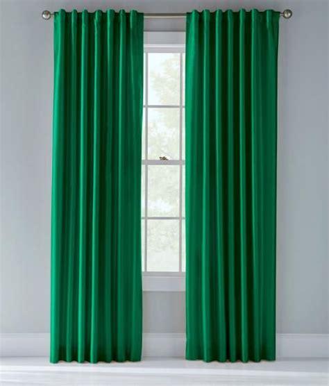 "Prospect & Vine  Kelly Green Curtain  84""  $70 For"