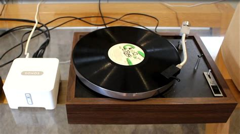 sonos connect  vinyl turntable youtube