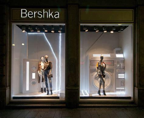 bershka fashion week windows  milan italy