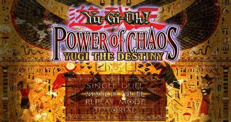power destiny chaos yugi yu gi oh
