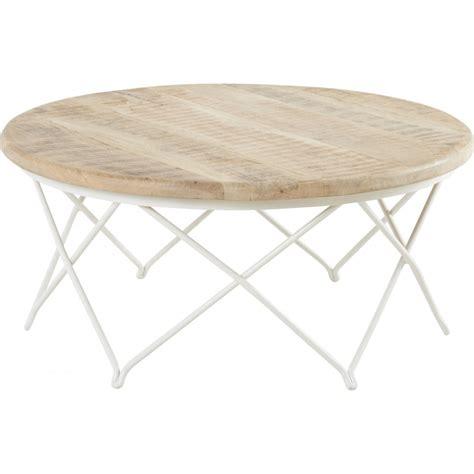 table basse ronde en fer ezooq