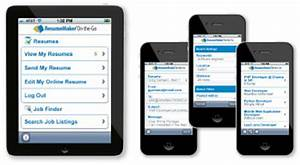 resumemaker on the go free resume builder write a With free mobile resume builder