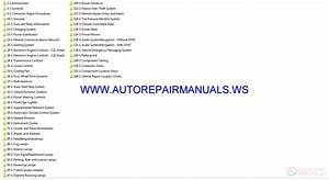 Ford Ranger 2015-2016 Wiring Diagrams Manual