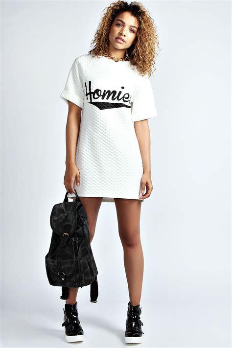 Homie Quilted TShirt Dress. Urban Fashion. Hip Hop Fashion. Swag. Dope   Fashion   Urban u0026 Hip ...