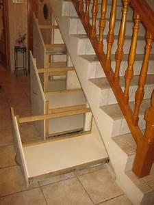 Aménagement Sous Escalier : 1000 images about am nagements sous escalier on pinterest messages cubes and open staircase ~ Preciouscoupons.com Idées de Décoration