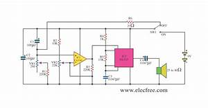 simple timer by ca3140 ne555 circuit diagram world With make a 555 timer circuit that turns on after a time delay and stays on