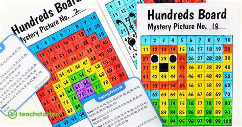 awesome printable hundreds board mystery picture task