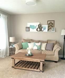 decoration salon peinture beige With idee couleur peinture salon