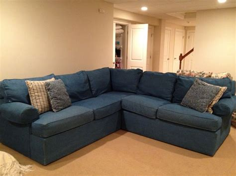 exciting denim sectional sofa design  living room decoration modular sofas denim sectional