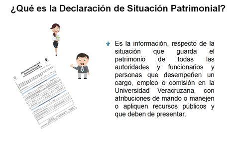 Pregunta1 – Declaración de Situación Patrimonial y de ...