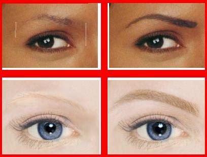 coloring eyebrows