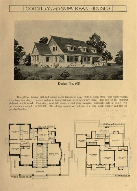 country  suburban houses  collection  exterior  interior sketches  floor plans