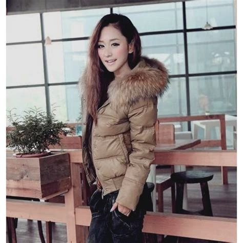 parka femme interieur fourrure winter parka for with fur lined