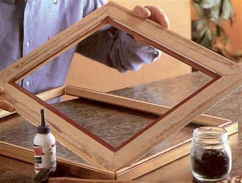 come fare una cornice per un quadro realizzare una cornice fai da te
