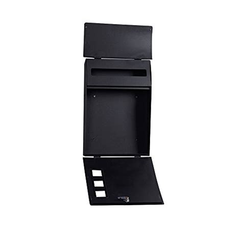 """Black Wall Mounted Mailbox Large 18"""" Vertical Locking Drop. Help Desk Tiers. Wooden Console Table. Glass And Wood Desks. Transforming Tables. White Lacquer Desk. Under The Desk Exercise Equipment. Tall End Tables With Drawers. Wardrobe With Sliding Doors And Drawers"""