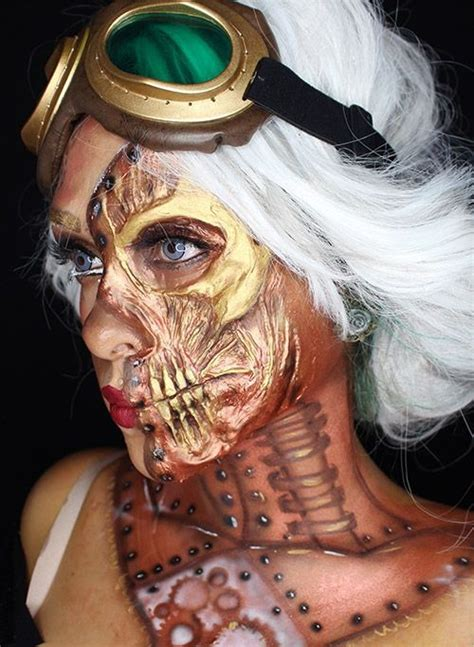 beautiful halloween makeup ideas   fabulous flawssy