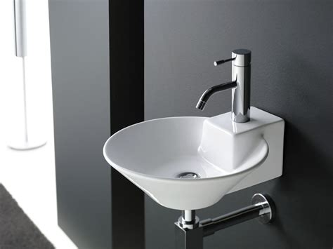 Cool Blue Wash Basins For Bathrooms With Storage Included