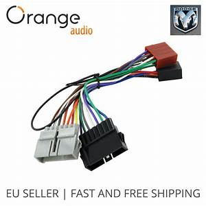 Wiring Harness Adapter Iso Lead For Dodge From 1984 To