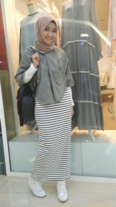 hijab style ootd rok tutorial hijab terbaru
