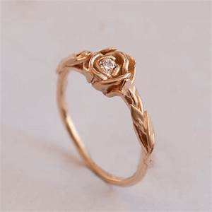 give rose gold ring to your loved one unique engagement ring With rose diamond wedding ring