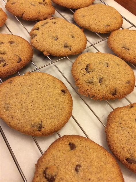 Whip nonfat dry milk with ice water until stiff peaks form (4 to 5 minutes). Diabetic Friendly Almond Flour Chocolate Chip Cookies | Wilderness Cafe
