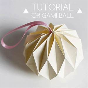 Origami Boule De Noel : best 25 origami ball ideas on pinterest paper balls step by step oragami and how to juggle ~ Farleysfitness.com Idées de Décoration