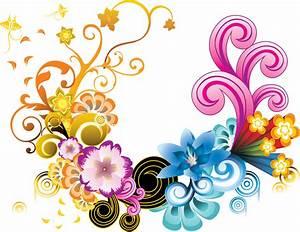 Frames & png: fantasy flower (1)