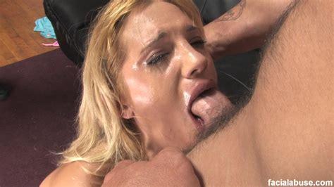 blonde slut face fucked with makeup smeared xxx dessert picture 6