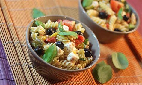 salade de p 226 tes 224 la grecque