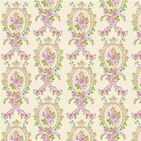 cream victorian cameo wallpaper   mm  dolls