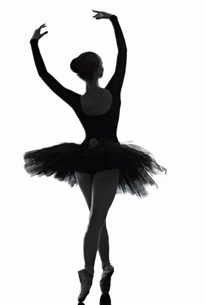 Silhouette Ballerina Dancer Leap Child Clip Clipart