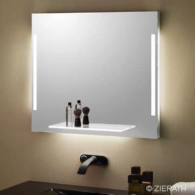 badspiegel mit ablage mit beleuchtung led steckdose my lovely bath magazin f 252 r bad spa