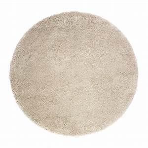 adum tapis poils hauts 130 cm ikea With tapis ronds ikea