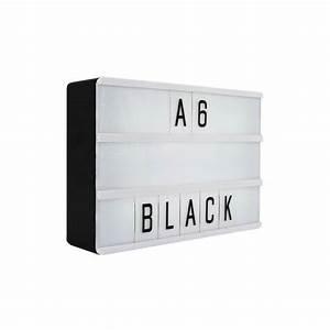 locomocean lightbox a6 magnetic mini letter light box with With mini light box letters