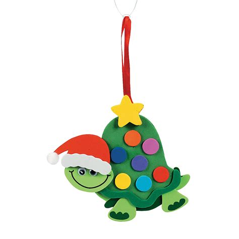 turtle christmas ornament craft kit oriental trading