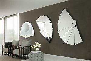 The idea of stylish modern wall mirror from porada motiq