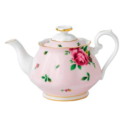 Royal Albert New Country Roses Pink Teapot 450ml Royal